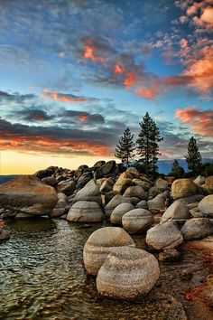 Sand Harbor, North Shore Lake Tahoe ~ Washoe County, Nevada
