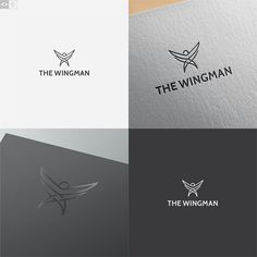 Create a logo for The Wingman, a business development and marketing agency by enfant terrible