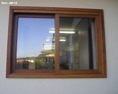 janela de madeira com vidro - Pesquisa Google