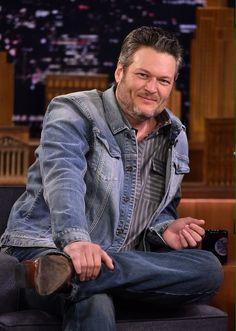 Blake Shelton, Country Singers, Celebrity Crush, Crushes, Hipster, Denim, Celebrities, Style, Fashion