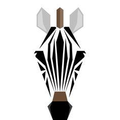 Origami animals drawing behance 19 new Ideas Zebra Drawing, Manga Anime, Animal Graphic, Tattoo Graphic, Donia, Unicorn Art, Origami Animals, Simple Illustration, Zebras