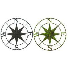 (http://www.shopbeachdecor.com/metal-wall-compass-rose-tan/)