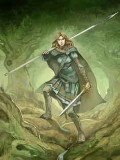 Elf Warden, Jon Hodgson