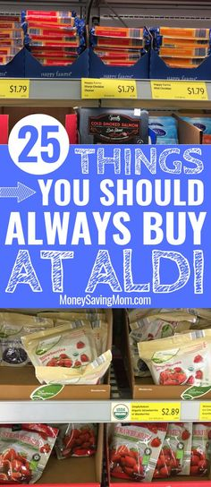Spending your grocery budget at ALDI? This list is SO helpful to know which items are HOT deals that will save you tons of money at ALDI! This is so helpful of items that are for sure cheapest at Aldi! Grocery Savings Tips, Savings Plan, Aldi Grocery Store, Dessert Party, Elegante Desserts, Brunch, Money Saving Mom, Money Savers, Save Money On Groceries