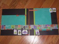 Halloween CTMH layout