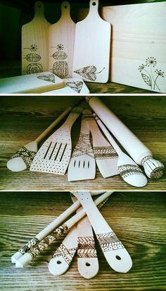 DIY your original wooden kitchen utensils