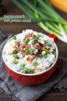 Ranch potato salad, Ranch potatoes and Potato salad on Pinterest