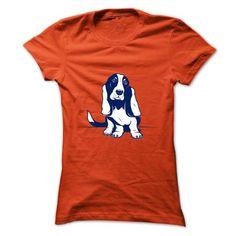 I love My Basset Hound - #homemade gift #monogrammed gift. PURCHASE NOW => https://www.sunfrog.com/LifeStyle/I-love-My-Basset-Hound-tejmq-Orange-Ladies.html?68278