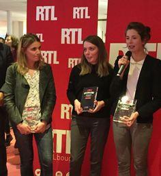 Nous sommes heureux de vous présenter les trois lauréates de cette deuxième édition du #RTLchallenge : Clarisse Martin (IJBA) Liselotte Mas (CELSA) et Constance Leon (CELSA). Un grand bravo également à l'ensemble de nos candidats. by rtl_france
