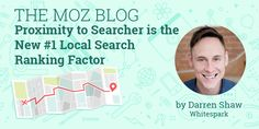 Forget everything you thought you knew about the most impactful local ranking factors — searcher proximity just may be the #1 thing influencing where a local business shows on the SERPs. #smallbusinessmarketing #smallbusinessseo