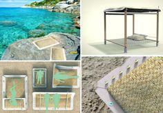 Eco-design sostenibile, gli arredi da spiaggia Medonia, si presentano il 7 aprile