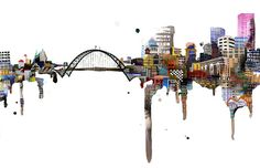 13'' x 19'' Archival Cityscape Prints by ursulabarton on Etsy
