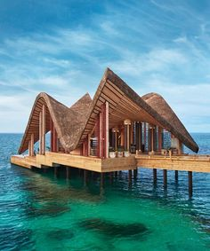 this luxury resort draws from the maldives' vernacular architecture --How does up to Off your next Vacation Sound?--Click Picture for MASSIVE DISCOUNTS! Parametric Architecture, Vernacular Architecture, Concept Architecture, Modern Architecture, Villas, Spa Treatment Room, Tropical Architecture, Tropical Design, Modern Tropical