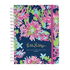 Lilly Pulitzer 2015 Large Agenda - Trippin' and Sippin'