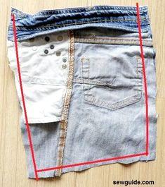 DIY Denim bags from old jeans: 3 easy to make ideas - Sew Guide DIY Denim bags . Diy Denim Purse, Denim Bags From Jeans, Artisanats Denim, Denim Tote Bags, Denim Bag Tutorial, Jean Diy, Denim Bag Patterns, Blue Jean Purses, Estilo Jeans