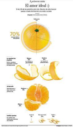 El amor ideal  El 48,3% de los porteños está sólo #infografia #infographic