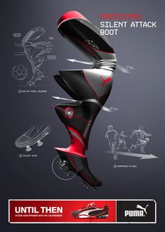 PUMA International | by Kristoffer Gandsager | Campaign for PUMA football boots targeting teenagers | awarded Gold and Silver at Creative Circle Award 2010 |