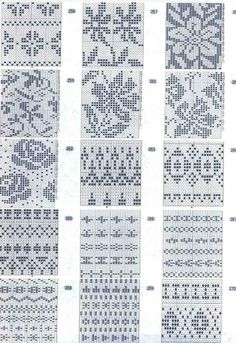 Musturi – Sarmīte Lagzdiņa – an incredible number of patterns, including stockings, baby han … - Knitting and Crochet Fair Isle Knitting Patterns, Fair Isle Pattern, Knitting Charts, Knitting Designs, Knitting Stitches, Knit Patterns, Stitch Patterns, Number Patterns, Knitting Machine