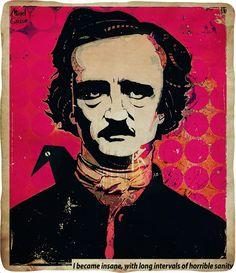 edgar allen poe | POEtry - Edgar Allan Poe Fan Art (33126755) - Fanpop fanclubs