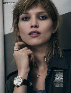 Working Girl: Hana Jirickova for Vogue Russia February 2015