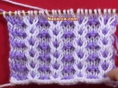 cicek-zinciri-orgu-modeli Spool Knitting, Knitting Charts, Easy Crochet Patterns, Baby Knitting Patterns, Hand Knitting, Stitch Patterns, Crochet Baby Booties, Knit Crochet, Yarn Shop