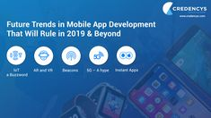 Future Trends of Mobile App Development That Will Rule in 2019 & Beyond (Posts by Credencyssolutions) Augmented Reality Technology, Free To Use Images, Future Trends, App Development, High Quality Images, Mobile App, Finding Yourself, Posts, Messages