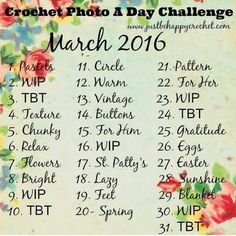 Since March is National Crochet Month I'm going to do this crochet photo a day challenege!!!! #crochet #crochetnerd #crochetaddict #crochetlove #crochetlife #crochetgeek #crochetgram #crochetersofinstagram #yarnjunkie #hookproblems by ceemarie0521