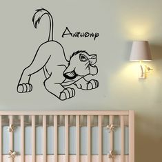 Hey, I found this really awesome Etsy listing at https://www.etsy.com/listing/460852236/lion-king-wall-sticker-simba-custom-name