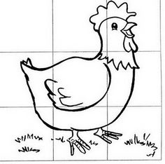 make your own chicken jigsaw Animal Activities, Montessori Activities, Fun Activities, Animals For Kids, Farm Animals, Farm Kids, Animal Puzzle, Picture Puzzles, Beginning Of The School Year