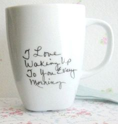 Anniversary Gift for Husband-Personalized Coffee Mug - Custom Tea Cup- Unique Coffee Cup Mug-Quote present-