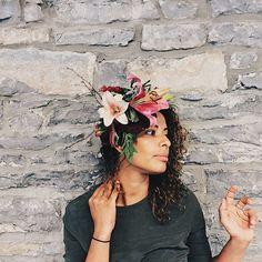 #ohHello #bespokeCrown #flowercrown #ottawaHandmade #RockBedRock #handmade  #ottawa