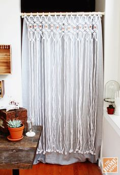 How to Make a Macrame Room Divider