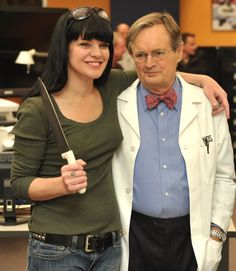 Pauley Perrette & David McCallum