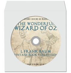 THE WIZARD of Oz, 24 Vintage Books in pdf + 883 Hi Res Images on DVD-Rom L. Frank Baum by PhoenixEbooksUK on Etsy