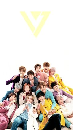 It's really hard to find vertical photos of Seventeen to use as phone wallpaper so I was really happy when I started finding them