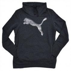 18.69$  Buy here - http://viprq.justgood.pw/vig/item.php?t=s102wo32261 - Puma Ladies French Terry Pullover - Dark Gray Heather Medium 18.69$