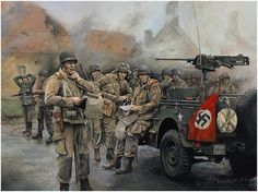 Easy Company - Moving On by Chris Collingwood  Major Dick Winters and the men of Easy Company, 101st Airborne Division, as they take up a ho...