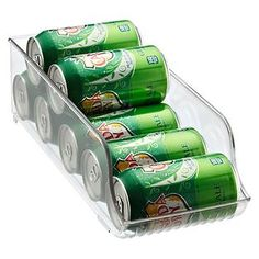 The Container Store > Fridge Binz Soda Can Organizer