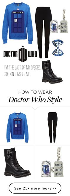 """""""Doctor Who"""" by sk8er13 on Polyvore featuring moda, River Island ve Timberland"""
