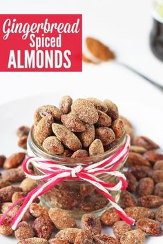 Roasted almonds with crunch coating and gingerbread spice flavor are a wonderful seasonal holiday treat. They also make great homemade gifts.Growing up in Germany, Christmas markets were an essential...
