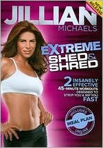 FitViews: Review: Jillian Michaels Extreme Shed & Shred/ Calories burned
