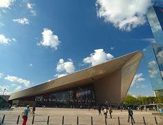 Rotterdam, Skyline Blue, Rotterdam Centraal