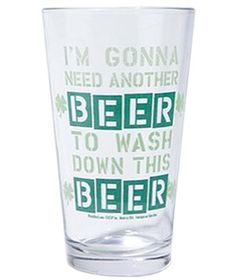 Need Another Beer Glass from Urban Outfitters, $8 #dailyfinds