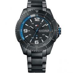 332e2df53713 Tommy Hilfiger Ash Black Stainless Steel Bracelet 1791001. Tommy Hilfiger  RelojesNegroFechaHombresCaja De ...