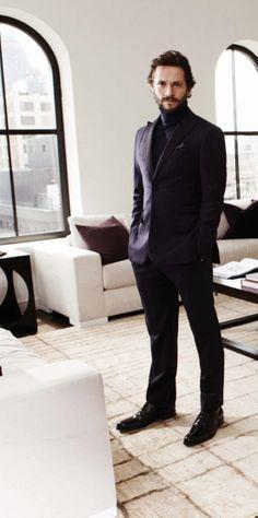 Hugh Dancy for August  Man 2013