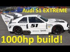 Audi S1 1000hp Build & Testdrive by KRB Trading