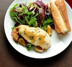 Recipe For  Rosemary Lemon Garlic Chicken Slow Cooked