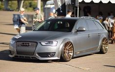 Stance:Nation - Form Function - Part 4 Audi Wagon, Wagon Cars, Vw Bus, Allroad Audi, Audi Rs6, Pimped Out Cars, Slammed Cars, Audi A6 Avant, Stance Nation