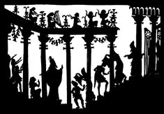 La flute enchantee, Tamino, Lotte Reiniger, ombres chinoises, theatre d`ombres, silhouettes, marionnettes, opéras, Mozart