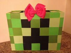 minecraft valentines day boxes - Google Search